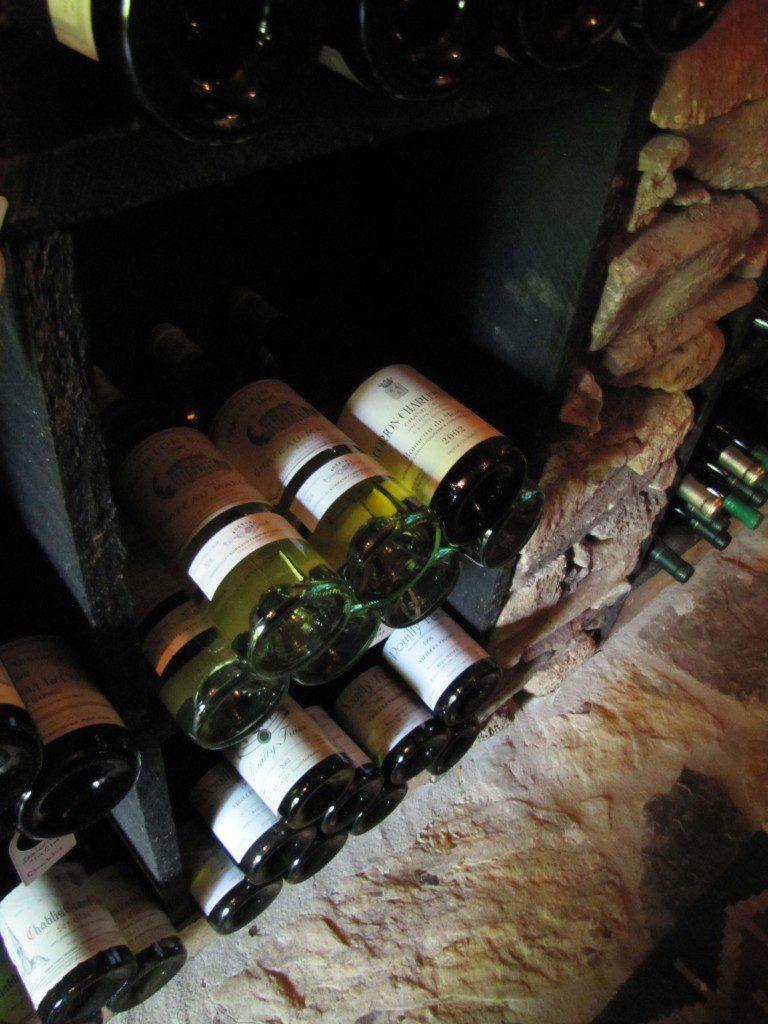 White Wine Storage