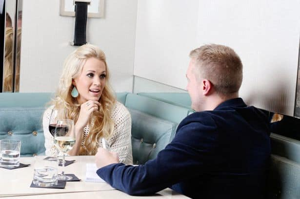 Carrie Underwood talks to the Sunday Mirror's Dean Piper