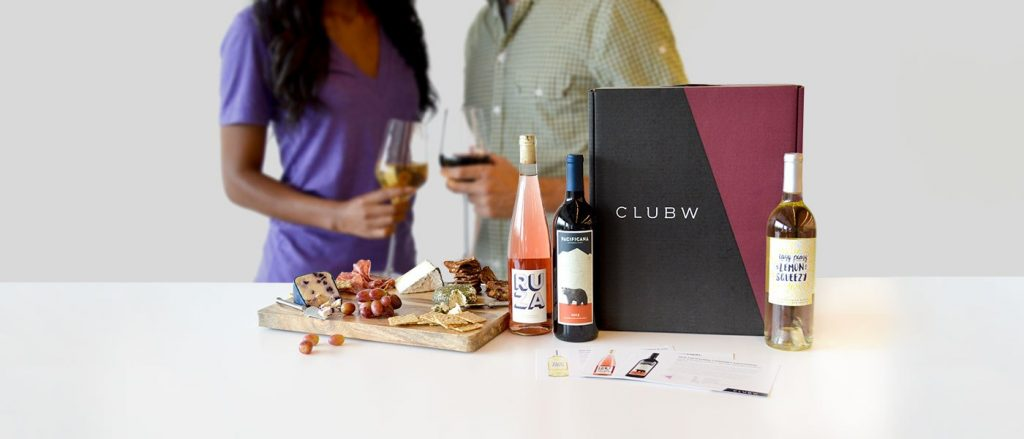 various wine clubs