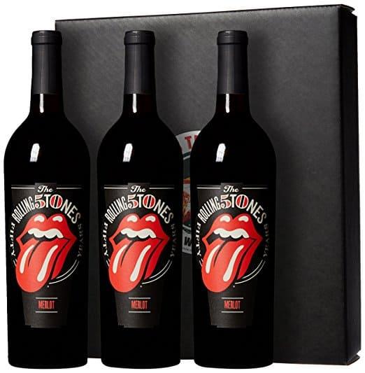 Rolling Stones Forty Licks Merlot