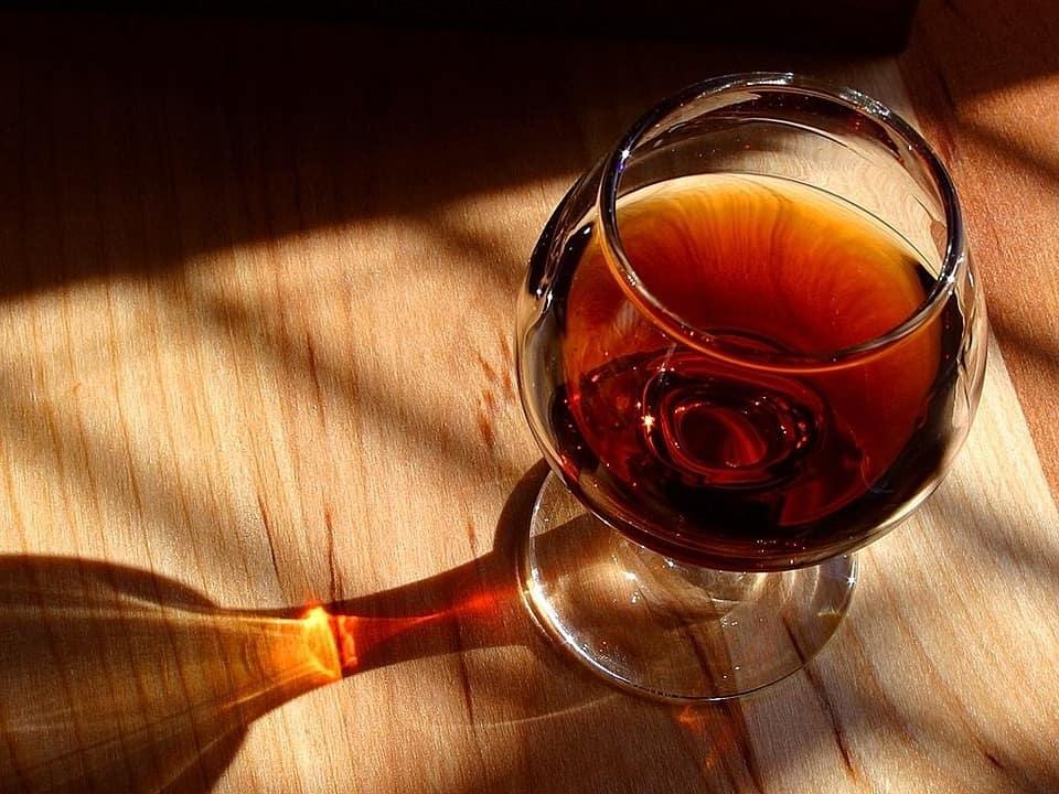 twany port - not a sipper glass