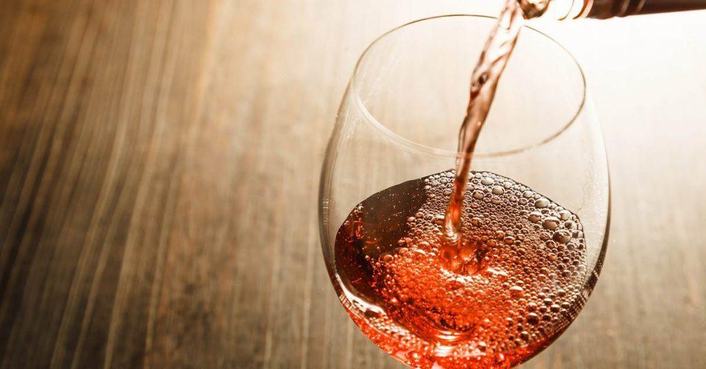 A Glass of Zinfandel Rosé