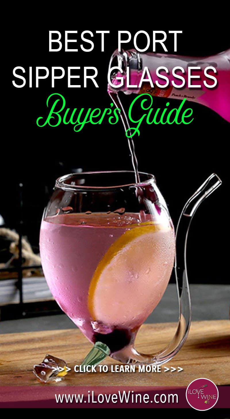 Maybe you've heard about one of the hottest wine gadgets on the market, the port sipper glasses. Click to read our buyer's guide! Love wine   Wine Glass   Wine Glasses   Port Sipper Glass   Port Sipper Wine Glass #lovewine #wine #portsipperglass