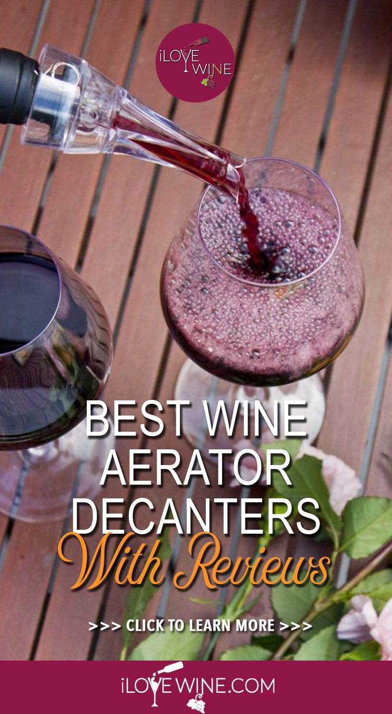 Sommeliers and wine lovers alike know the benefits of having the best wine aerator on hand. Click to read more about wine aerator decanters. Love wine | Wine Aerator | Wine Aerators | Wine Aerator Decanters #lovewine #wine #wineaerators