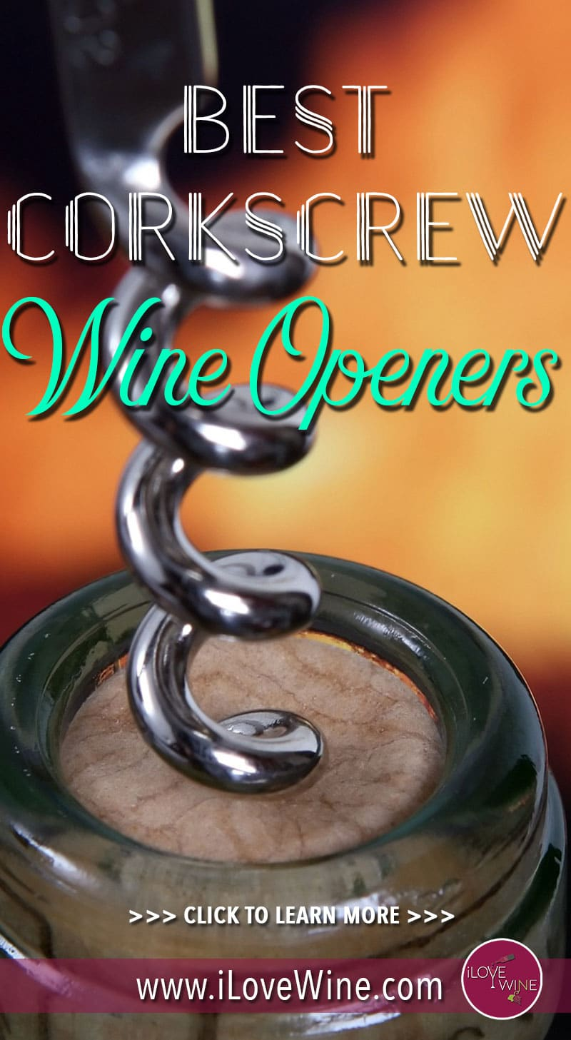 With a high-quality corkscrew wine opener, uncorking your bottle should be smooth, simple and take a matter of seconds. Click to learn more about wine corkscrew openers! Love wine | Wine Openers | Corkscrew Opener | #lovewine #wine #corkscrew