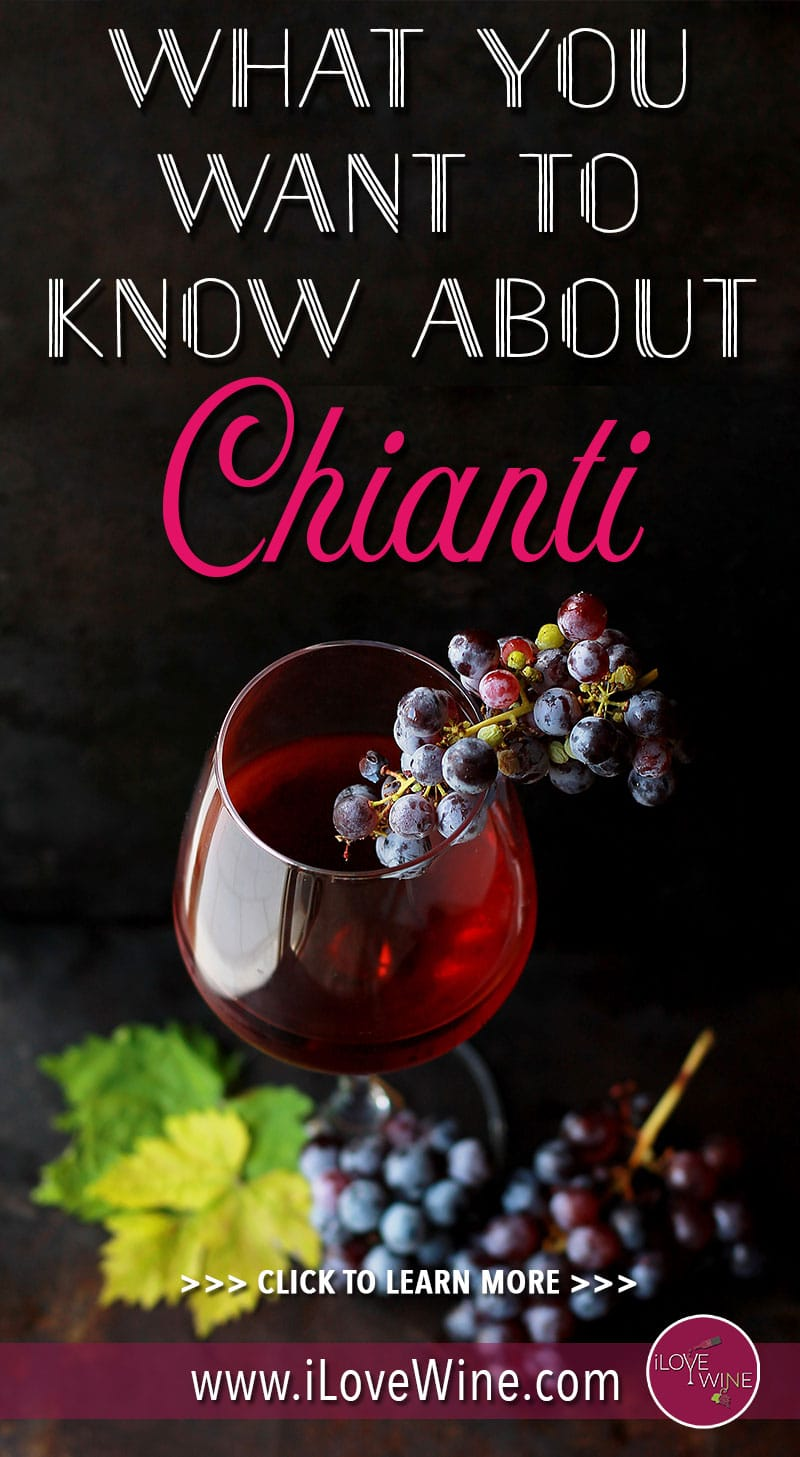 If you drink wine at all, you may have heard of the delicious Italian red wine called Chianti. In most cases, you will recognize this wine by the oddly shaped bottle that is certain to catch your eye at a wine tasting. Click to learn more about Chianti wine! Love wine | Chianti Wine | #lovewine #wine #Chiantiwine