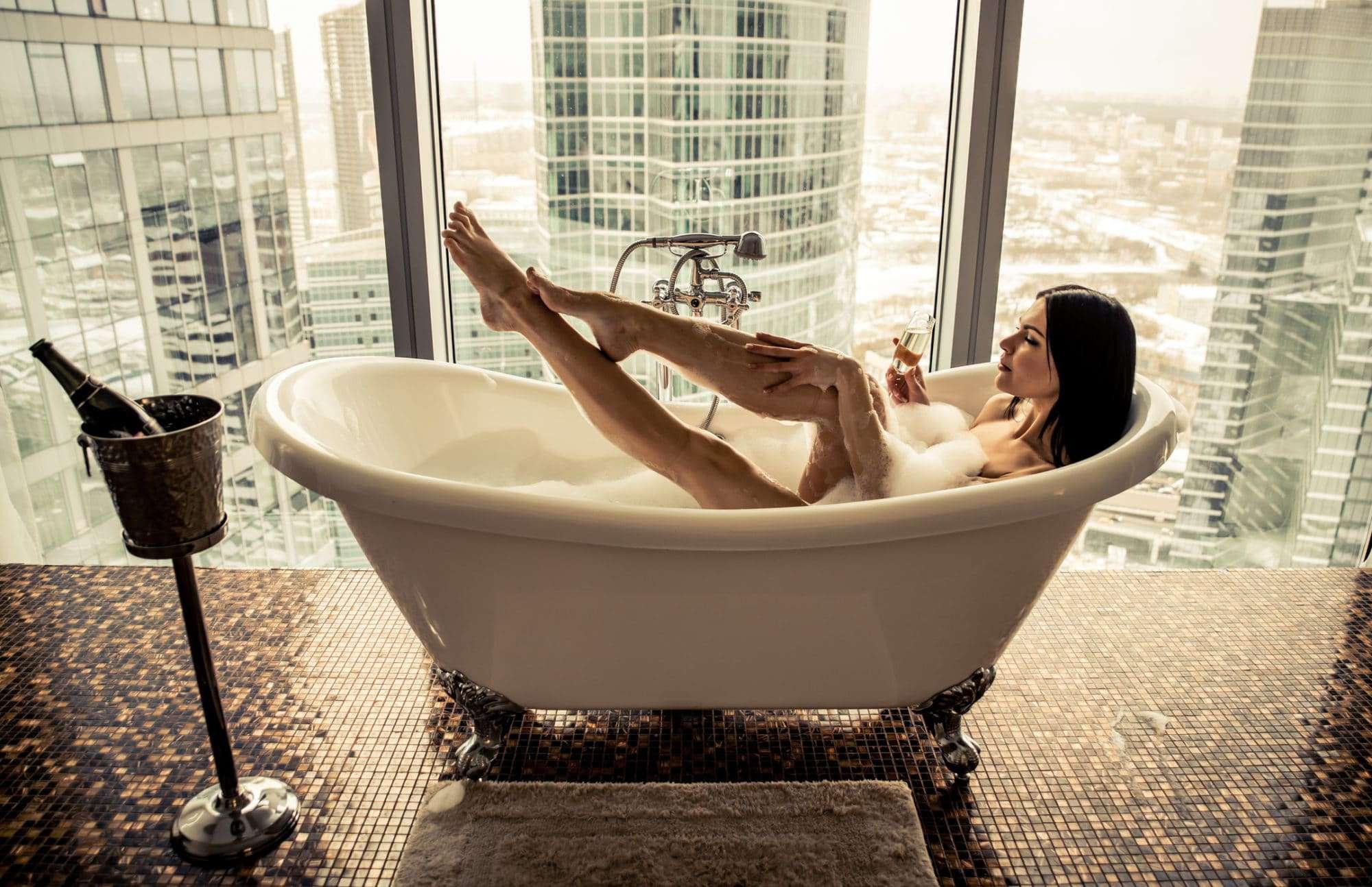 Bathtub Tray Bathtub Wine