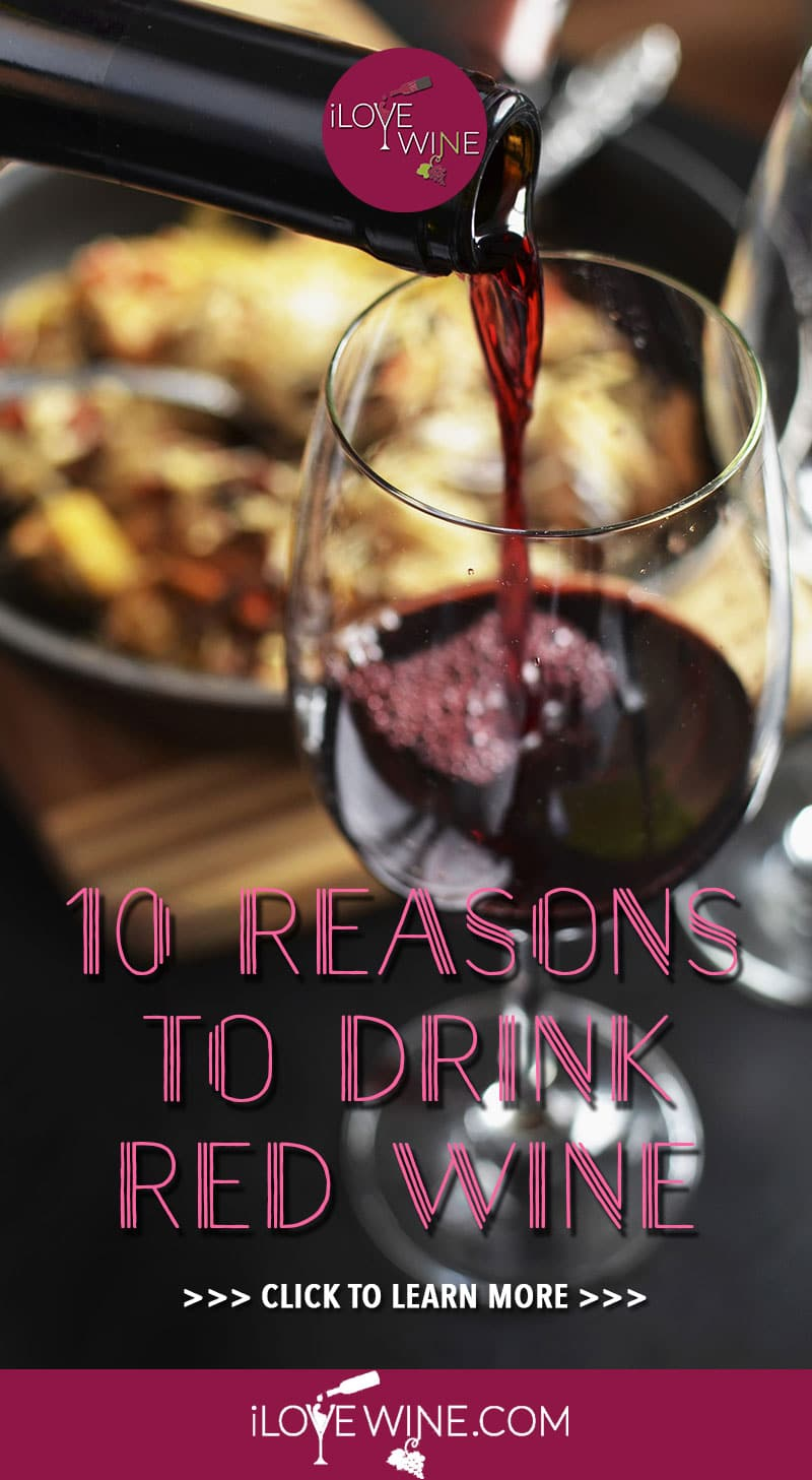 Have you always considered yourself a white wine drinker? Maybe you only like the sparkling wine with bubbles? But have you ever given the red wine the real chance it deserves? If you haven't, we have the top 10 reasons you should give red wine a chance! Click to learn more! Love wine | Red Wine | #lovewine #wine #redwine