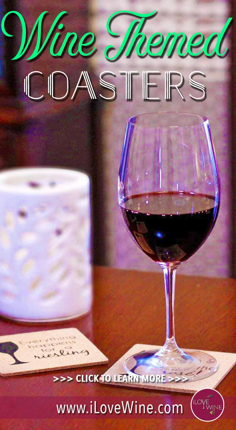 If you're conscious of the eco-friendly credentials of the products you purchase and want some coaster designs that look great, do the job and are kind to the environment at the same time, then click to keep reading! Love wine   Wine Themed Coaster Designs   Wine Themed Coasters   Wine Coasters   #lovewine #wine #winecoastersLove wine   Wine Themed Coaster Designs   Wine Themed Coasters   Wine Coasters   #lovewine #wine #winecoasters