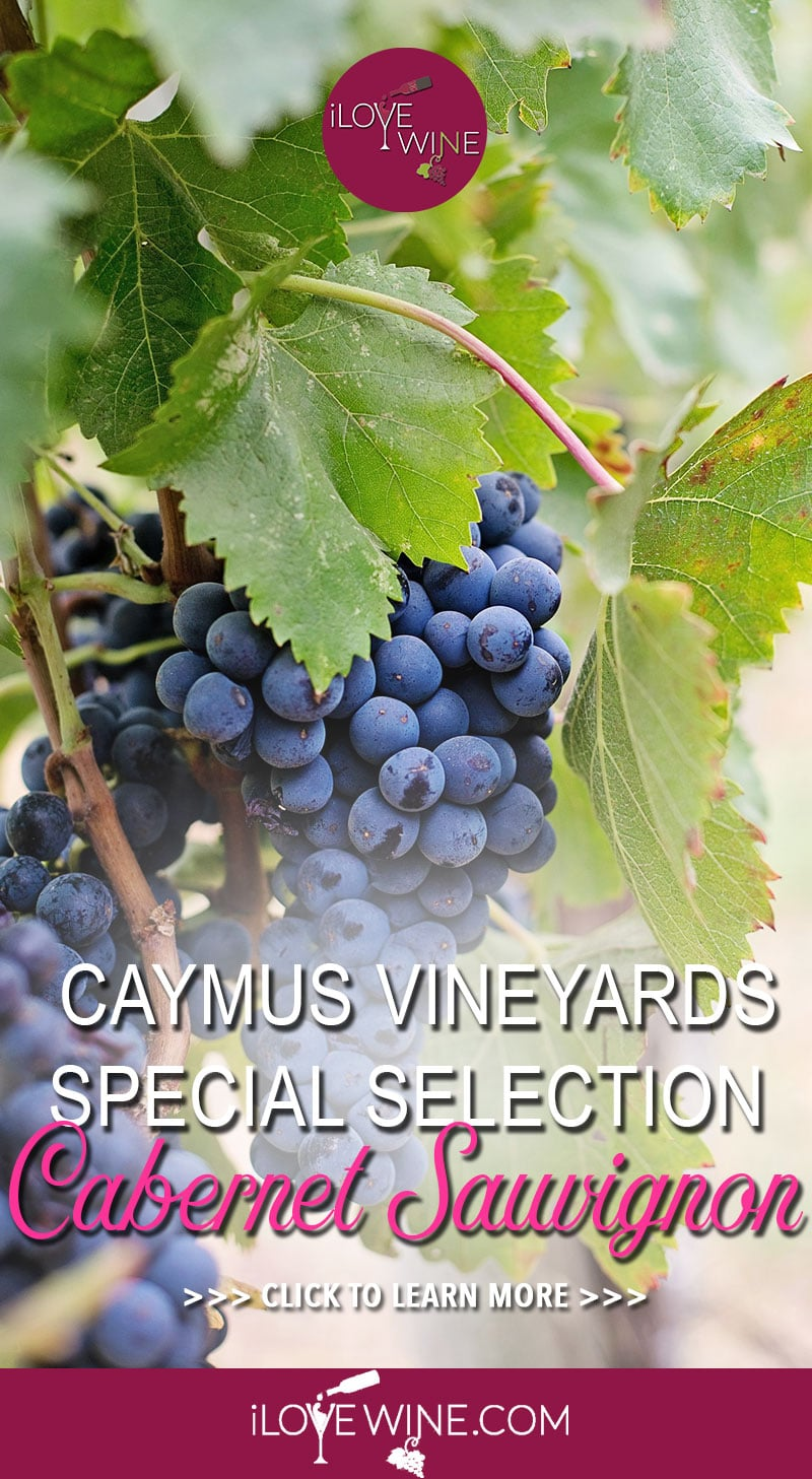 Caymus Vineyards are famous among the wine world for producing some of the finest Cabernet Sauvignons. Click to learn more! Love wine | Caymus Vineyard Cabernet Sauvignon Wine | Unique Wine #lovewine #wine #CabernetSauvignon
