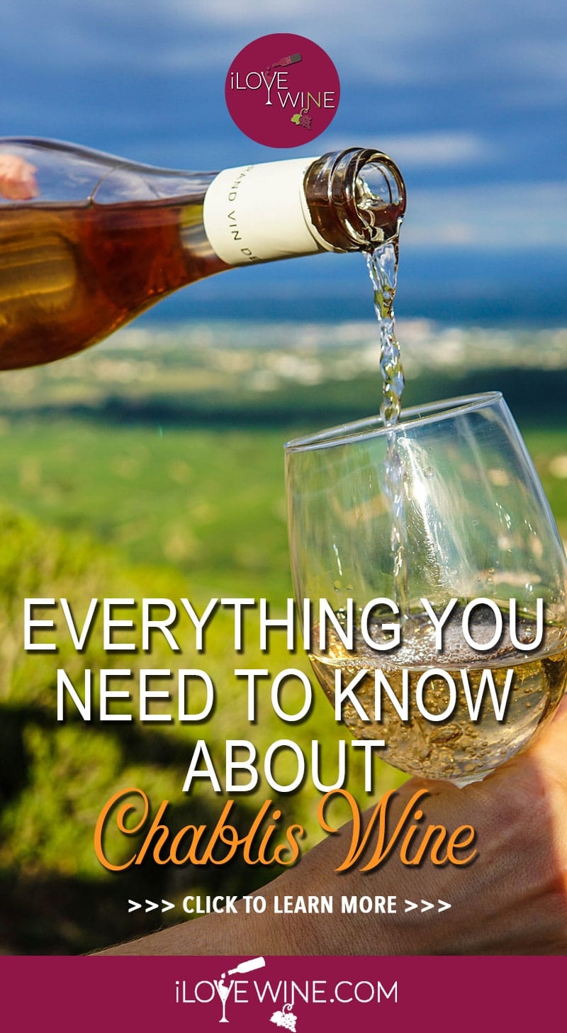You may recognize the Chablis wine name from the wine aisle, but you could be forgiven for not knowing that Chablis is made from 100% Chardonnay grapes. If you're wondering how the same grape can produce two wines with such different taste-profiles, then click to learn more about Chablis wine! Love wine | Chablis Wine | Chardonnay grapes. #lovewine #Chabliswine #Chardonnaygrapes