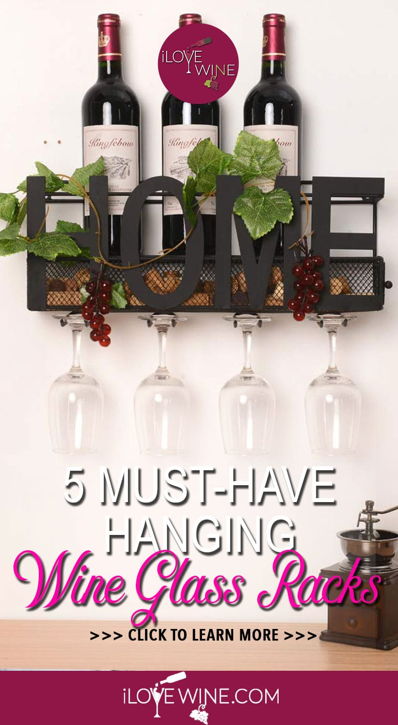 The Best Hanging Wine Glass Racks I Love Wine