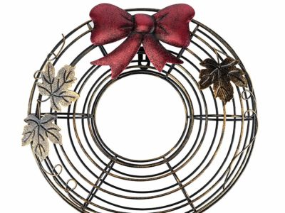 Best Cork Cage Wreath